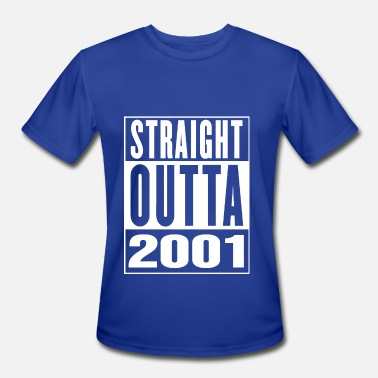 Vintage 2001 Straight Outa 2001 - Men's Moisture Wicking Performance T-Shirt
