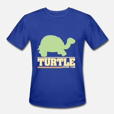 Turtle Race Turtle racing Team - Men's Moisture Wicking Performance T-Shirt