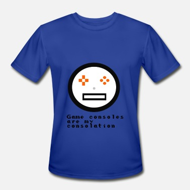 Get Your Game Face On Game Console Face - Men's Moisture Wicking Performance T-Shirt