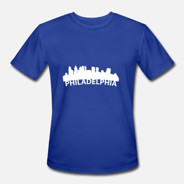 Philadelphia Love Arc Skyline Of Philadelphia PA - Men's Moisture Wicking Performance T-Shirt