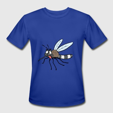 Drunk Face Mosquito flies drunk funny face insect comic - Men's Moisture Wicking Performance T-Shirt