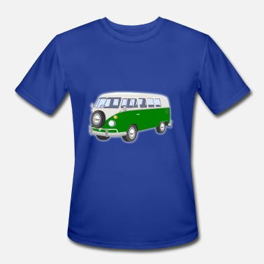 Vans hippie van - Men's Moisture Wicking Performance T-Shirt