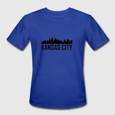 Kansas City Kansas City Skyline - Men's Moisture Wicking Performance T-Shirt