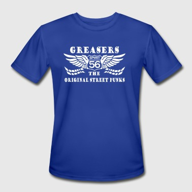 Greasers - Men's Moisture Wicking Performance T-Shirt