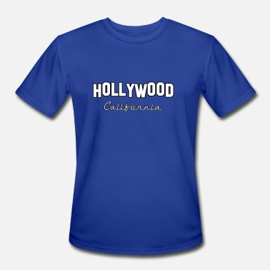 Hollywood Hollywood California - Men's Moisture Wicking Performance T-Shirt