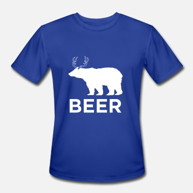 Deer Bear Bear Deer - Men's Moisture Wicking Performance T-Shirt