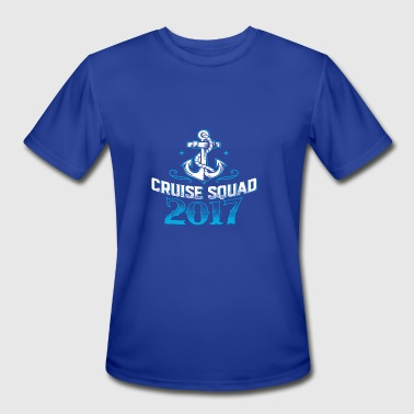 Cruise Squad Shirts Funny Family Cruise 2017 Tee - Men's Moisture Wicking Performance T-Shirt