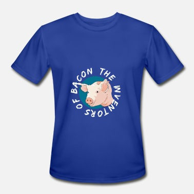 Inventors The Inventors of bacon - Men's Moisture Wicking Performance T-Shirt