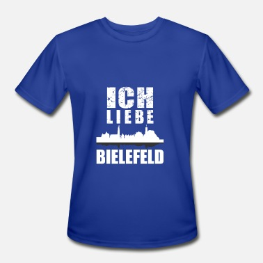 Bielefeld Bielefeld - Men's Moisture Wicking Performance T-Shirt