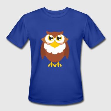Owl loveme - Men's Moisture Wicking Performance T-Shirt