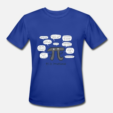 Irrational Numbers Irrational Pi - Men's Moisture Wicking Performance T-Shirt