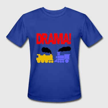 DRAMA - Men's Moisture Wicking Performance T-Shirt