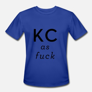 Kc Pride Kansas City As Fuck KCAF - Men's Moisture Wicking Performance T-Shirt