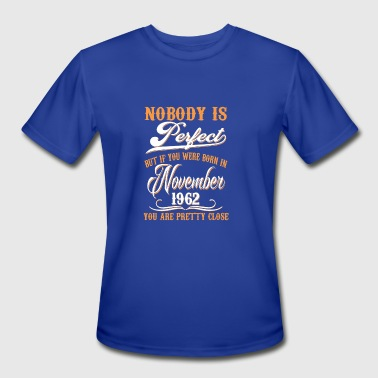 If You Born In November 1962 - Men's Moisture Wicking Performance T-Shirt