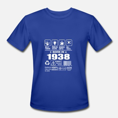 1938 Born In 1938 - Men's Moisture Wicking Performance T-Shirt