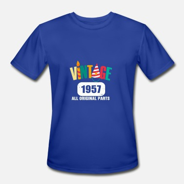 1957 All Original Parts Vintage 1957 All Original Parts - Men's Moisture Wicking Performance T-Shirt