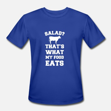 Salad New Design Salad Thats What My Food Eats Cow - Men's Moisture Wicking Performance T-Shirt