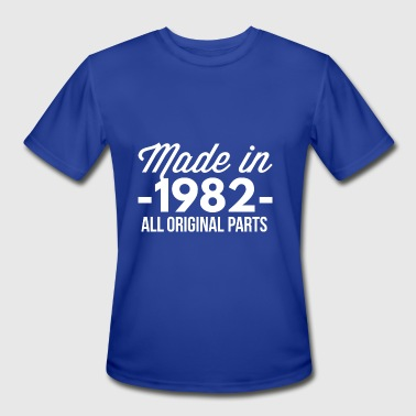 1982 All Original Parts Made in 1982 all original parts - Men's Moisture Wicking Performance T-Shirt