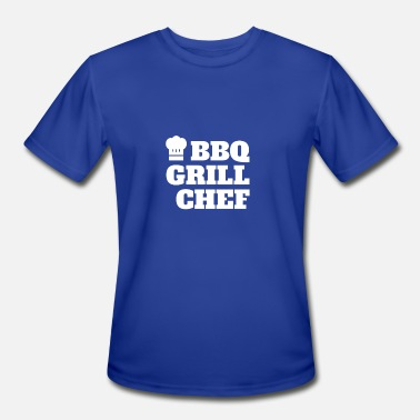 Grill Chef BBQ Grill Chef - Men's Moisture Wicking Performance T-Shirt