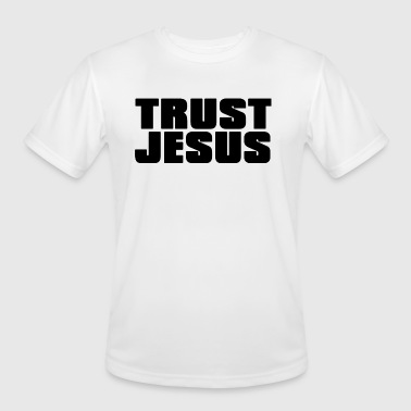 TRUST JESUS - Men's Moisture Wicking Performance T-Shirt