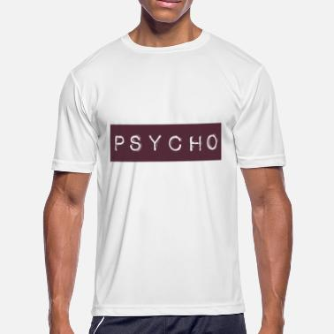 Mickey Mouse Hands Fuck Psycho Funny Slogan Unisex Fit Ladies Swag Trendy - Men's Moisture Wicking Performance T-Shirt