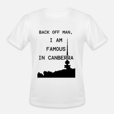 Canberra Famous in Canberra - Men's Moisture Wicking Performance T-Shirt