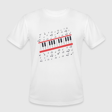 Great Piano Note - Men's Moisture Wicking Performance T-Shirt