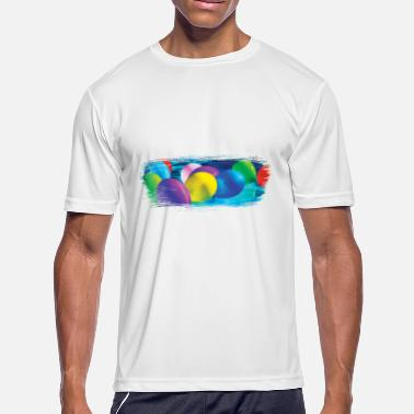 Balloon Artist Party Balloon Artistic Swash - Men's Moisture Wicking Performance T-Shirt