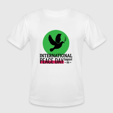 International Peace day bird - Men's Moisture Wicking Performance T-Shirt