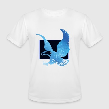 Eagle Blue - Men's Moisture Wicking Performance T-Shirt