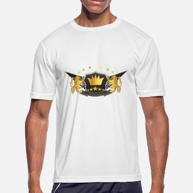 Emperor Coronation Lion crown star gift - Men's Moisture Wicking Performance T-Shirt