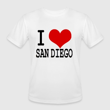 San Diego Kids I HEART SAN DIEGO - Men's Moisture Wicking Performance T-Shirt