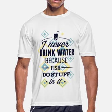 Drinking Water drink water - Men's Moisture Wicking Performance T-Shirt