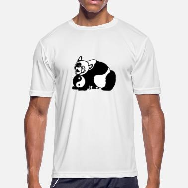Bear Panda Jokes Zen Panda Bear - Men's Moisture Wicking Performance T-Shirt
