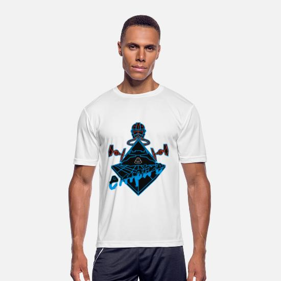 Game T-Shirts - Robbot Imperial - Men's Sport T-Shirt white