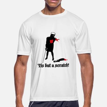 Tis Tis But A Scratch White - Men's Moisture Wicking Performance T-Shirt