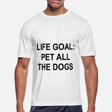 life goal pet all the husky t shirts - Men's Moisture Wicking Performance T-Shirt