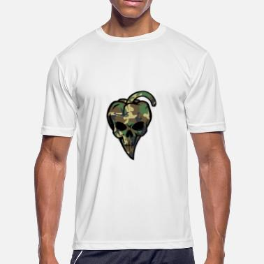 Camo camo pepperskull - Men's Moisture Wicking Performance T-Shirt