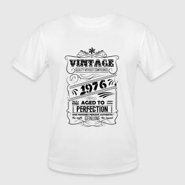 1976 Aged To Vintage Aged To Perfection 1976 - Men's Moisture Wicking Performance T-Shirt