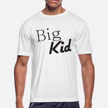 Big Daddy Jokes Big Kid And Little Kid Funny Slogan Daddy Son Dad - Men's Moisture Wicking Performance T-Shirt