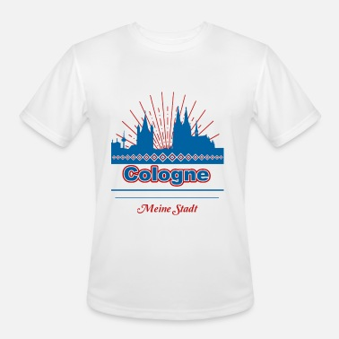 Cologne Cathedral Cologne - Men's Moisture Wicking Performance T-Shirt