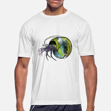 Hermit Crabs Hermit Crab - Men's Moisture Wicking Performance T-Shirt