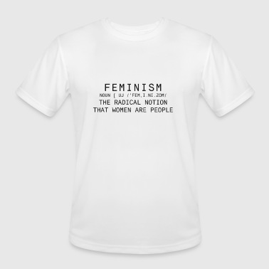 Feminism - Men's Moisture Wicking Performance T-Shirt