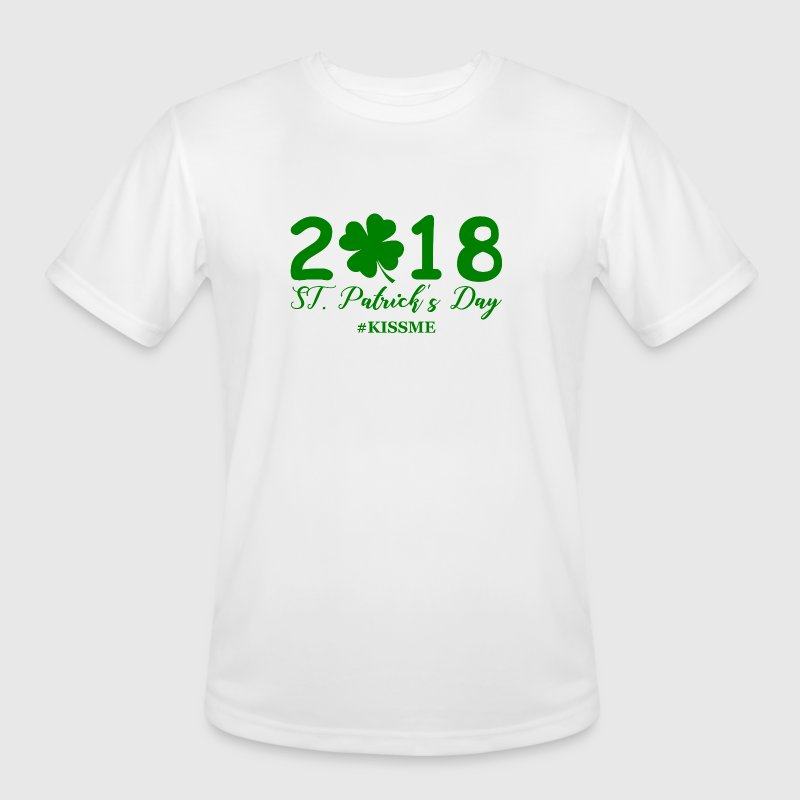 ST. Patrick's Day 2018 - Men's Moisture Wicking Performance T-Shirt