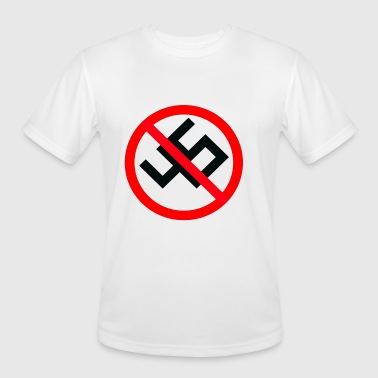 anti nazi - Men's Moisture Wicking Performance T-Shirt