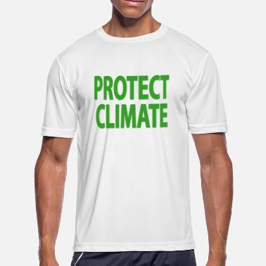 Climatic Protection Protect climate - Men's Moisture Wicking Performance T-Shirt