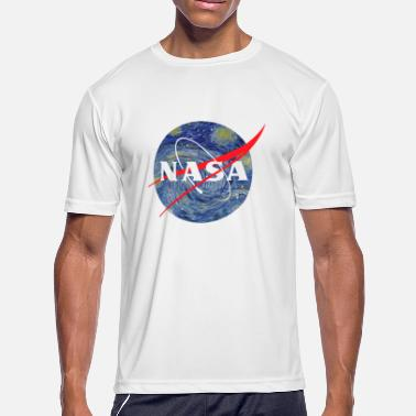 Nasa Starry Night NASA starry night - Men's Sport T-Shirt