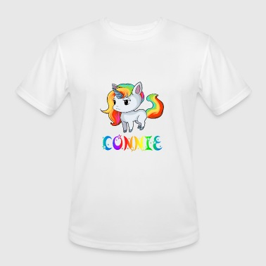 Connie Connie Unicorn - Men's Moisture Wicking Performance T-Shirt