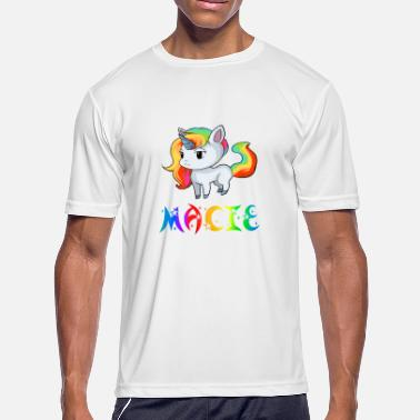 Macy Macie Unicorn - Men's Moisture Wicking Performance T-Shirt