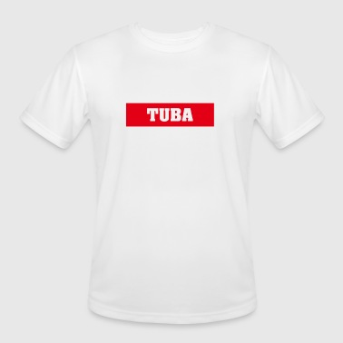 Gift Tuba TUBA TUBIST TUBA PLAYER MUSICAL INSTRUMENTS TUBA - Men's Moisture Wicking Performance T-Shirt